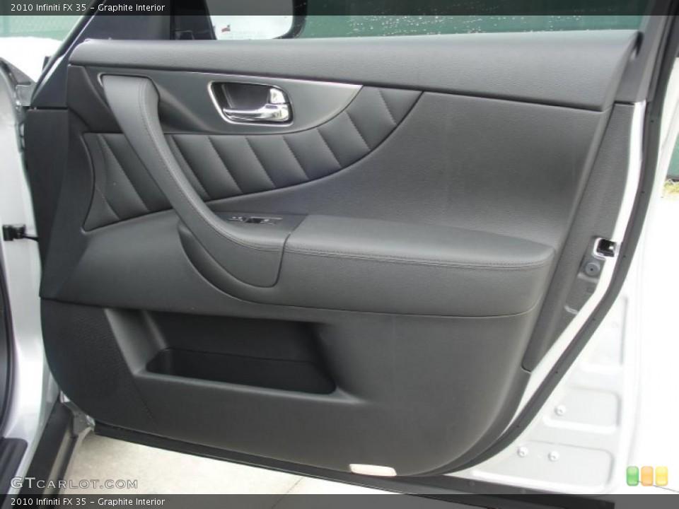 Graphite Interior Door Panel for the 2010 Infiniti FX 35 #48539216