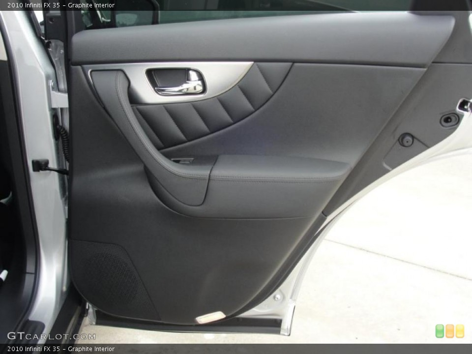 Graphite Interior Door Panel for the 2010 Infiniti FX 35 #48539249