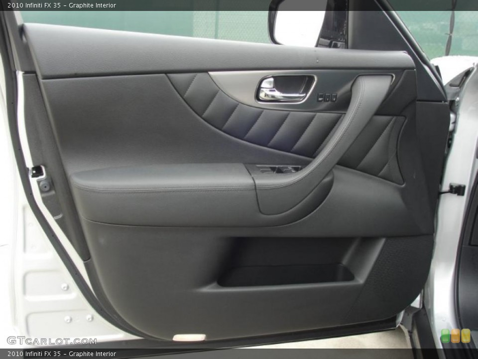 Graphite Interior Door Panel for the 2010 Infiniti FX 35 #48539297