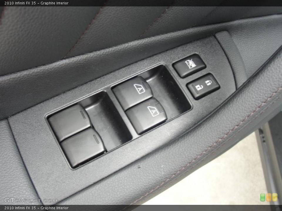 Graphite Interior Controls for the 2010 Infiniti FX 35 #48539315