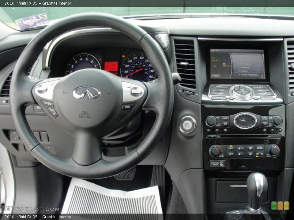 Graphite Interior Dashboard for the 2010 Infiniti FX 35 #48539348