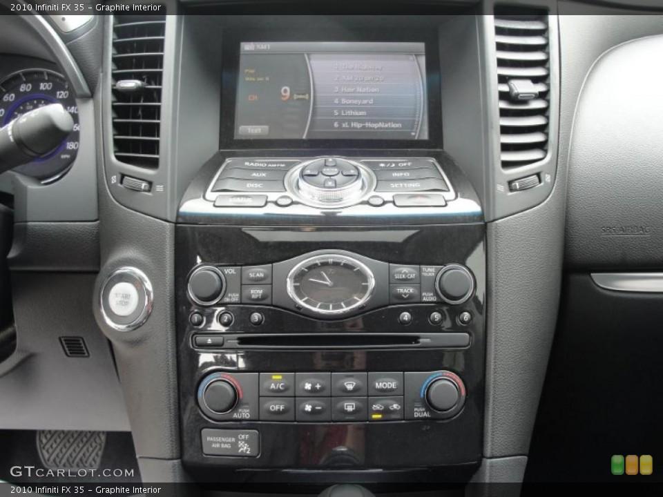 Graphite Interior Controls for the 2010 Infiniti FX 35 #48539357