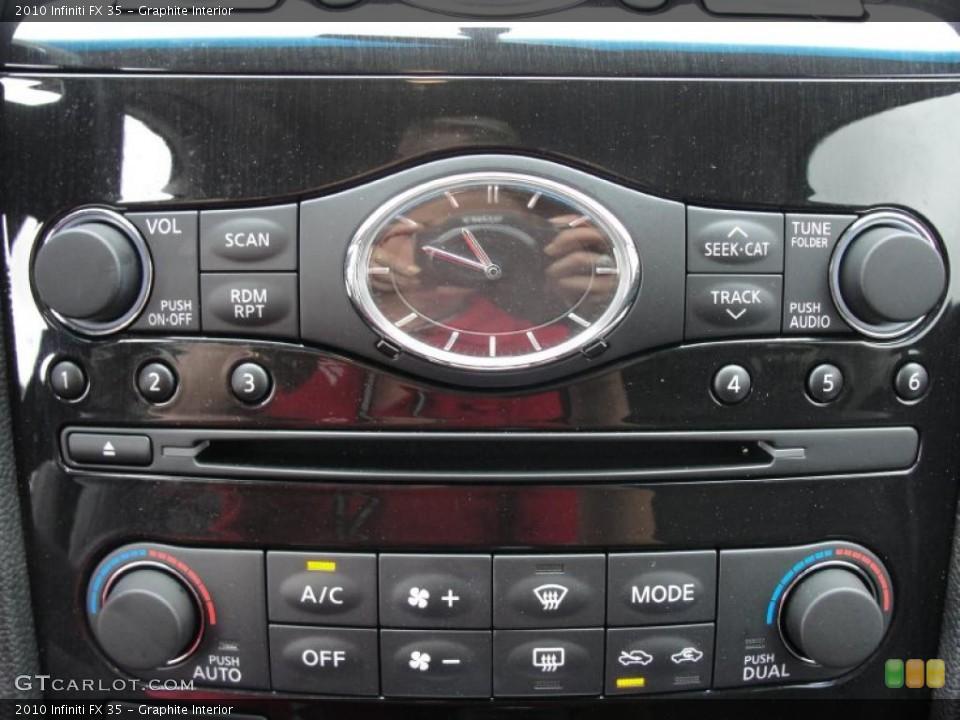 Graphite Interior Controls for the 2010 Infiniti FX 35 #48539373