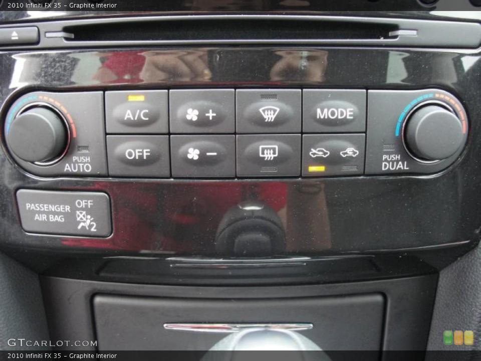 Graphite Interior Controls for the 2010 Infiniti FX 35 #48539381