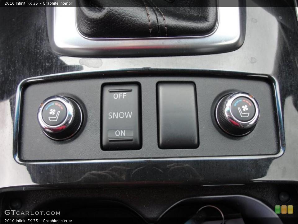 Graphite Interior Controls for the 2010 Infiniti FX 35 #48539399