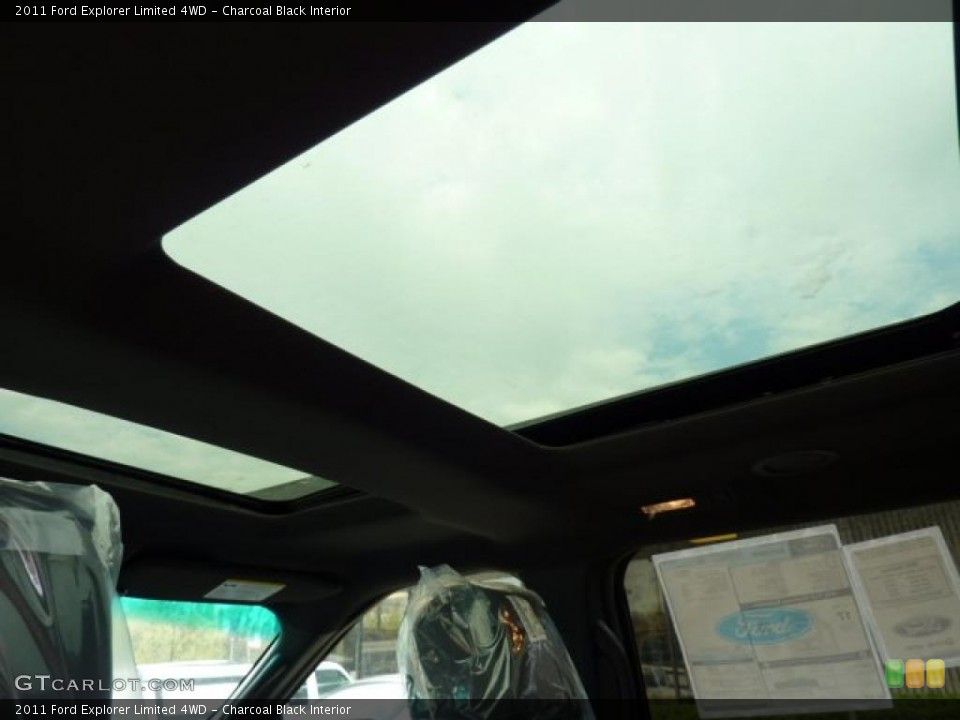 Charcoal Black Interior Sunroof for the 2011 Ford Explorer Limited 4WD #48568090