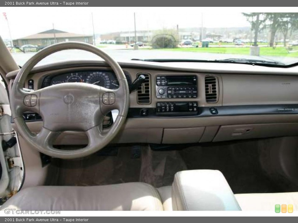 Taupe Interior Dashboard For The 2001 Buick Park Avenue