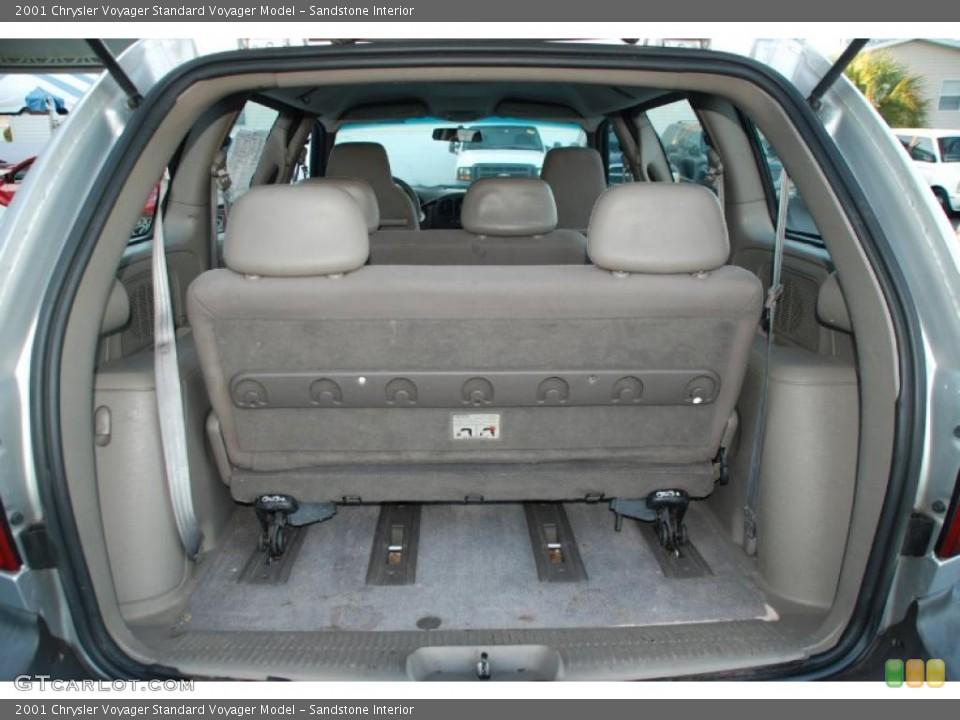 Sandstone Interior Trunk for the 2001 Chrysler Voyager  #48664899