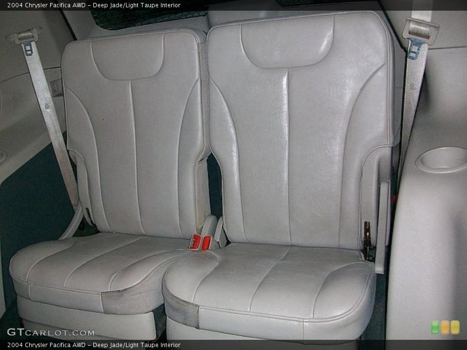 Deep Jade/Light Taupe 2004 Chrysler Pacifica Interiors