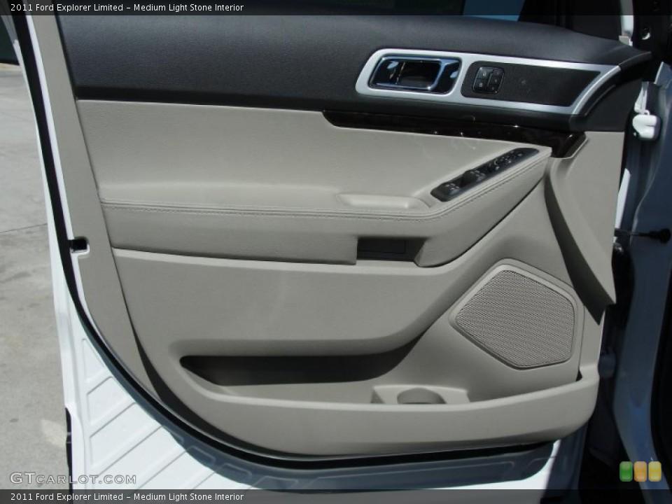 Medium Light Stone Interior Door Panel for the 2011 Ford Explorer Limited #48820251