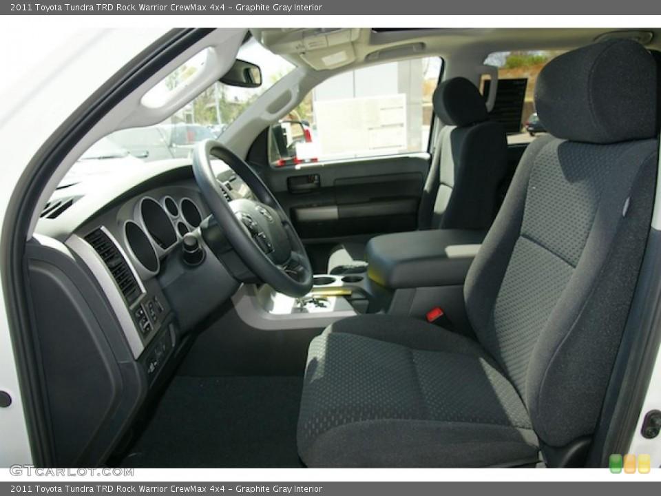Graphite Gray Interior Photo for the 2011 Toyota Tundra TRD Rock Warrior CrewMax 4x4 #48835023