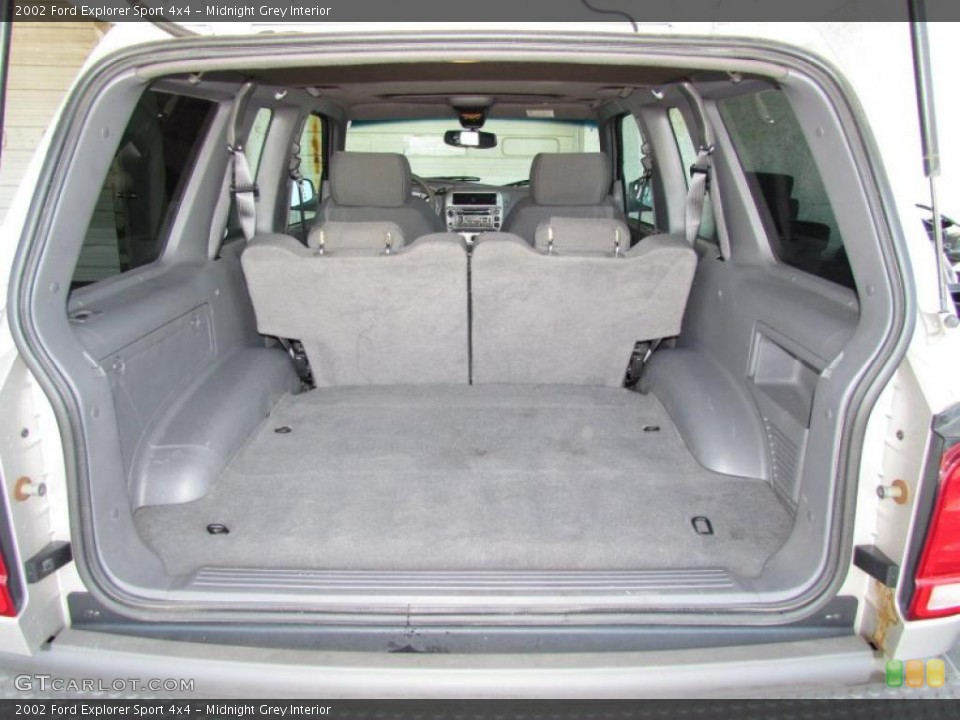 Midnight Grey Interior Trunk for the 2002 Ford Explorer Sport 4x4 #48908913