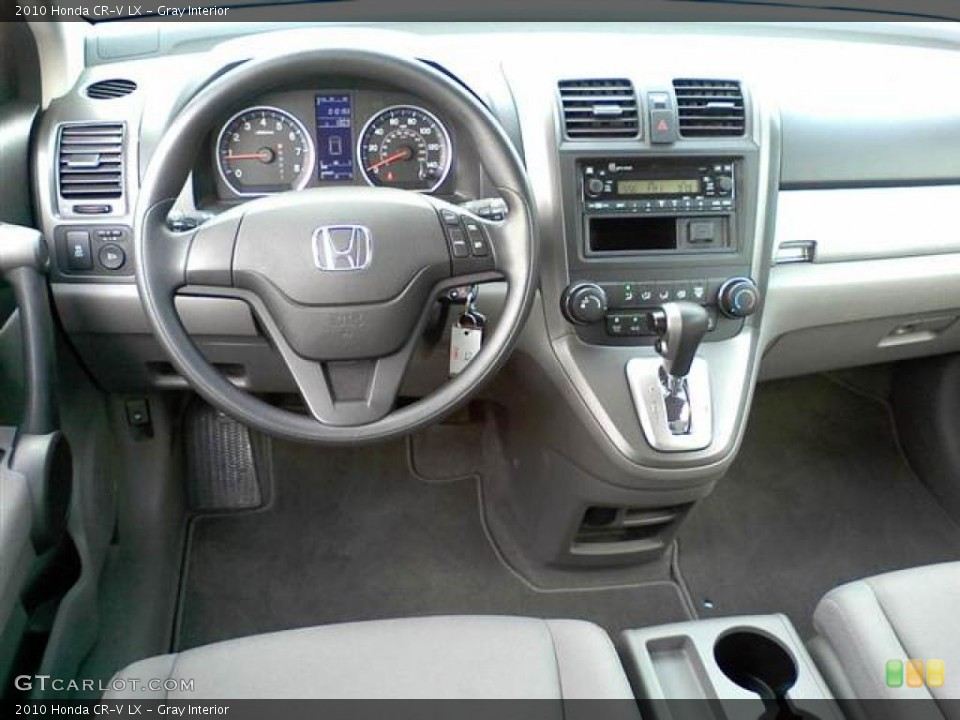Gray Interior Dashboard for the 2010 Honda CR-V LX #48915567