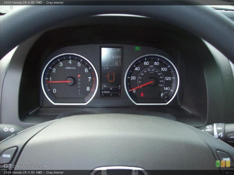 Gray Interior Gauges for the 2009 Honda CR-V EX 4WD #48929107