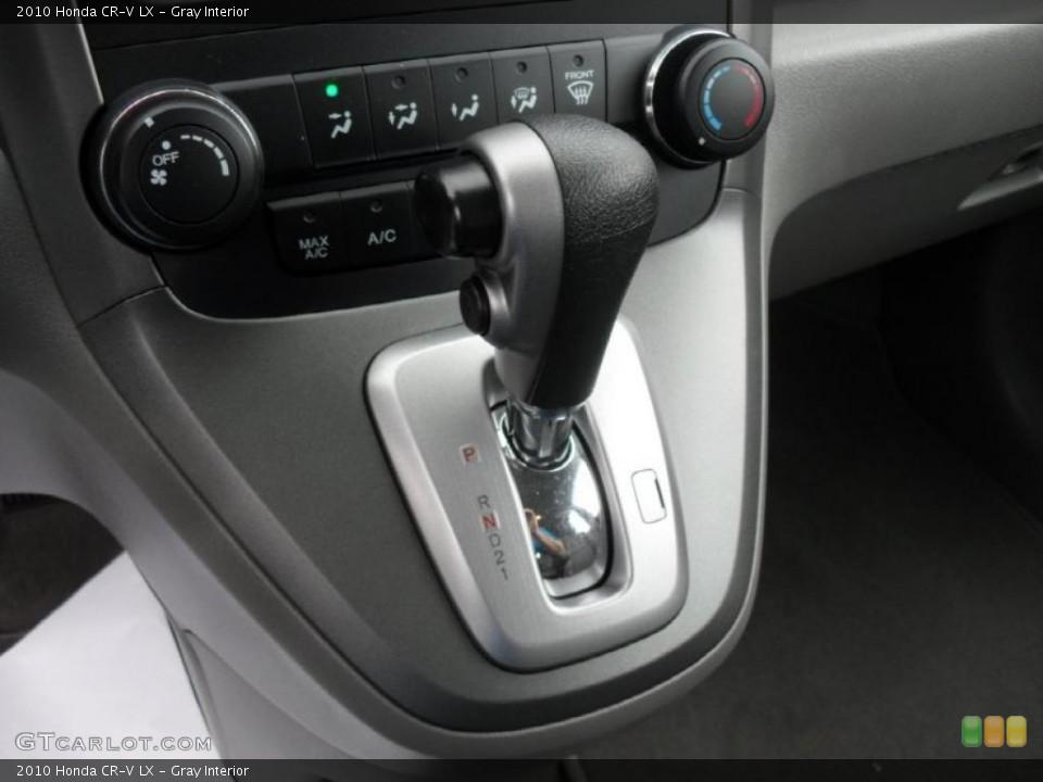 Gray Interior Transmission for the 2010 Honda CR-V LX #49048287