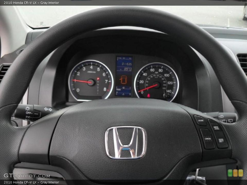 Gray Interior Steering Wheel for the 2010 Honda CR-V LX #49048302
