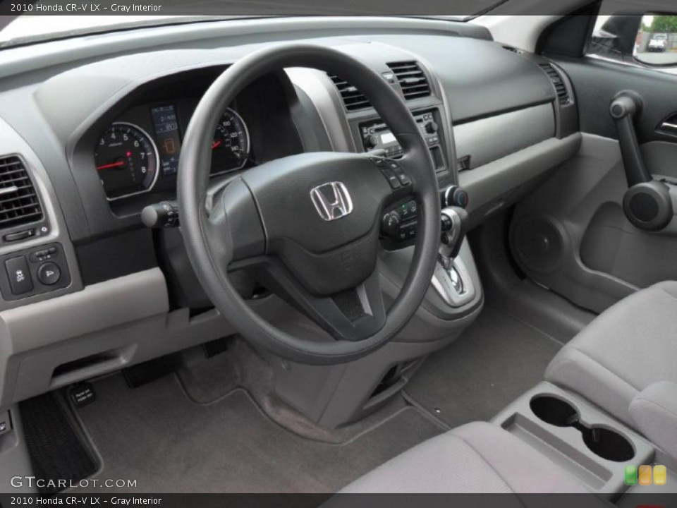 Gray Interior Photo for the 2010 Honda CR-V LX #49048383