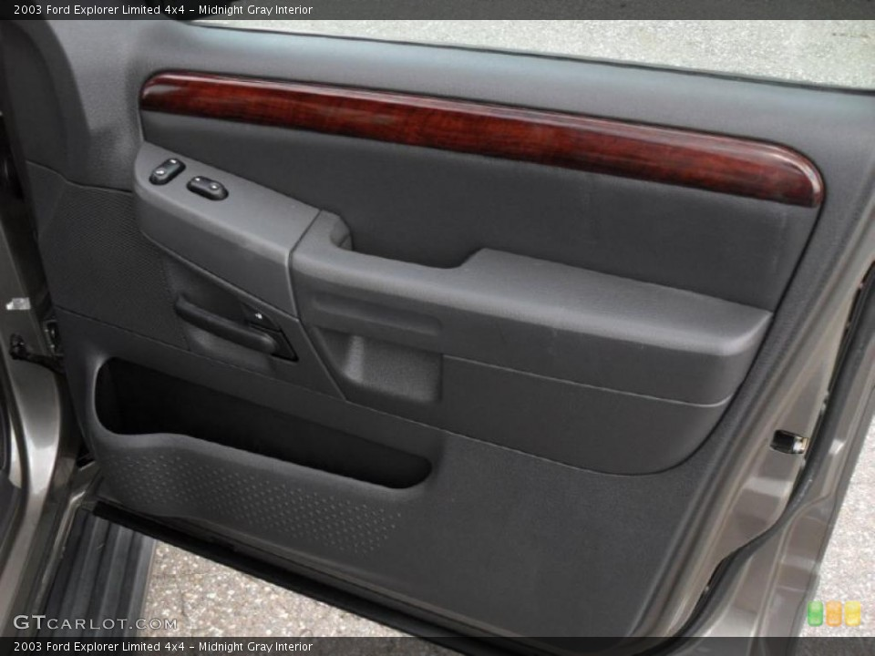 Midnight Gray Interior Door Panel for the 2003 Ford Explorer Limited 4x4 #49050165