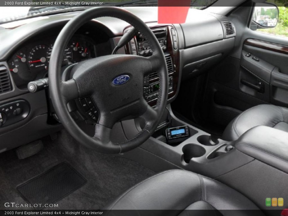 Midnight Gray Interior Photo for the 2003 Ford Explorer Limited 4x4 #49050177