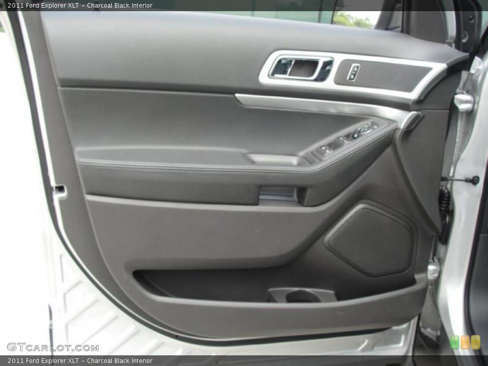 Charcoal Black Interior Door Panel for the 2011 Ford Explorer XLT #49253759