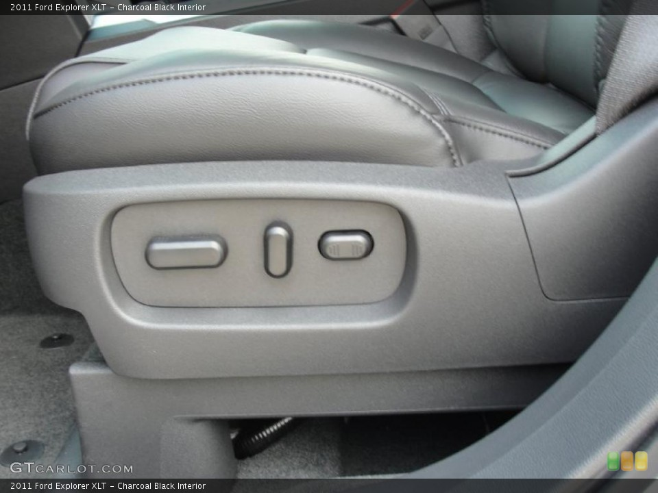 Charcoal Black Interior Controls for the 2011 Ford Explorer XLT #49253819