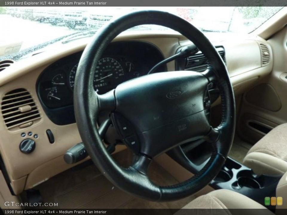 Medium Prairie Tan Interior Photo for the 1998 Ford Explorer XLT 4x4 #49264562