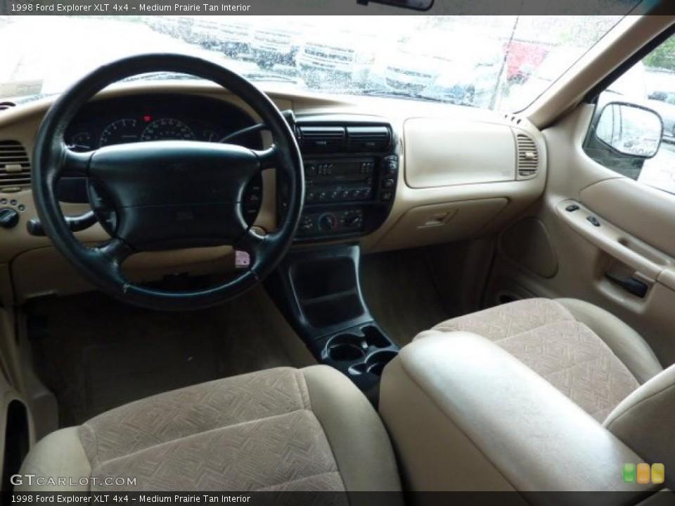 Medium Prairie Tan Interior Photo for the 1998 Ford Explorer XLT 4x4 #49264631