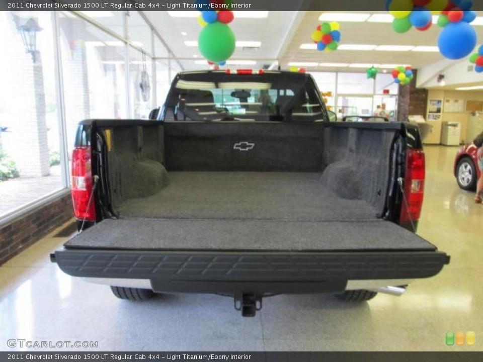 Light Titanium/Ebony Interior Trunk for the 2011 Chevrolet Silverado 1500 LT Regular Cab 4x4 #49311351