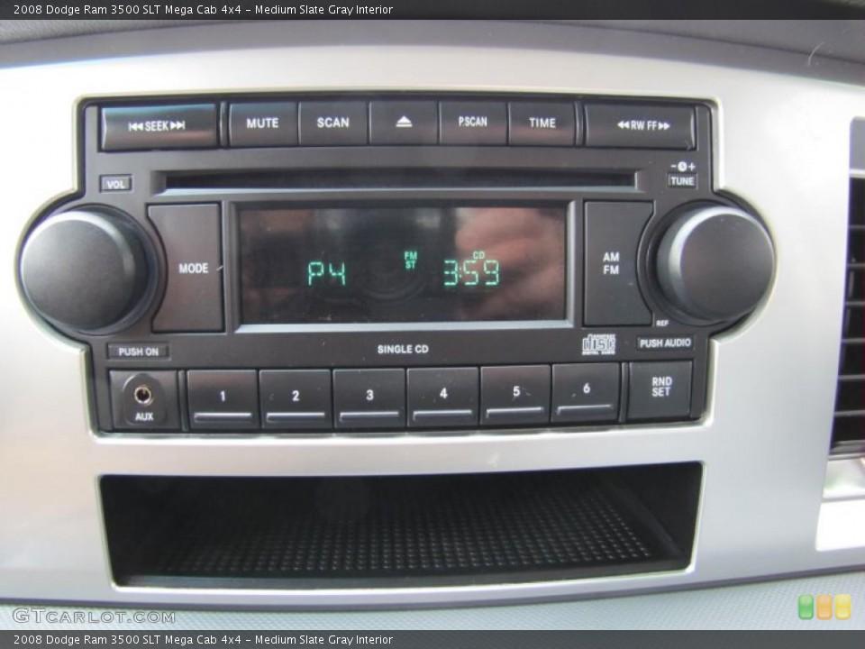 Medium Slate Gray Interior Controls for the 2008 Dodge Ram 3500 SLT Mega Cab 4x4 #49409265