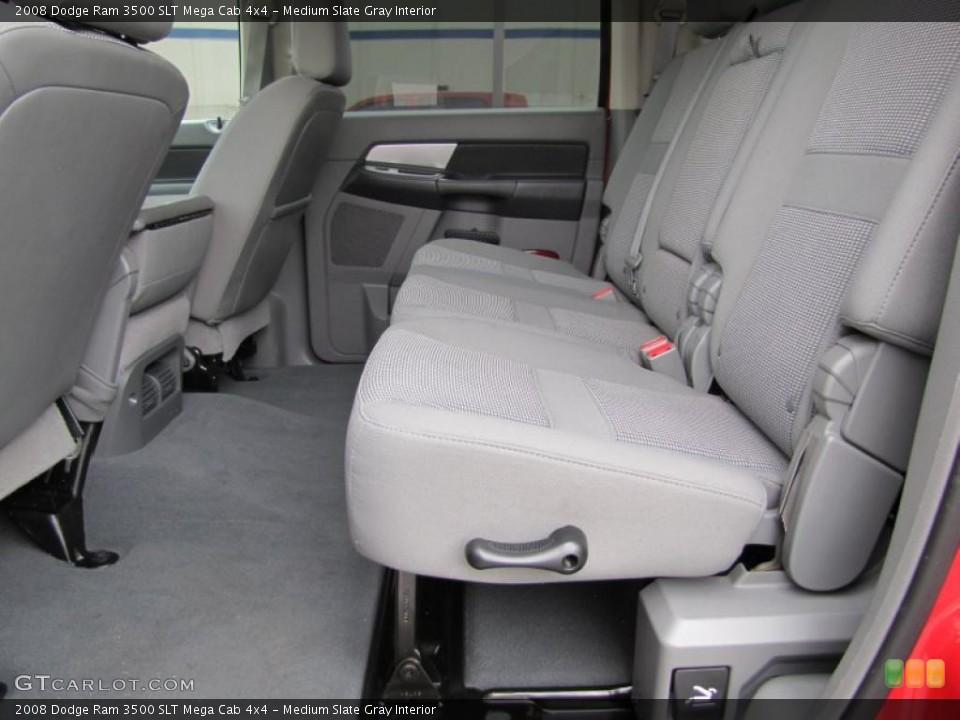 Medium Slate Gray Interior Photo for the 2008 Dodge Ram 3500 SLT Mega Cab 4x4 #49409367