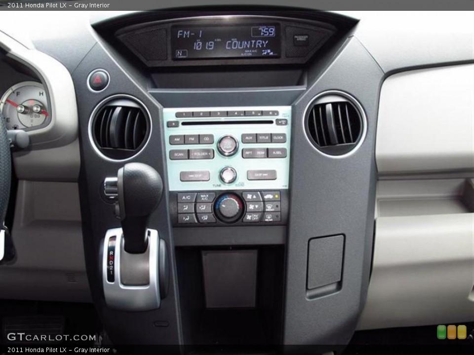 Gray Interior Controls for the 2011 Honda Pilot LX #49450846