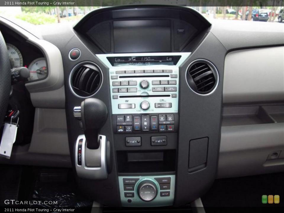 Gray Interior Controls for the 2011 Honda Pilot Touring #49452508