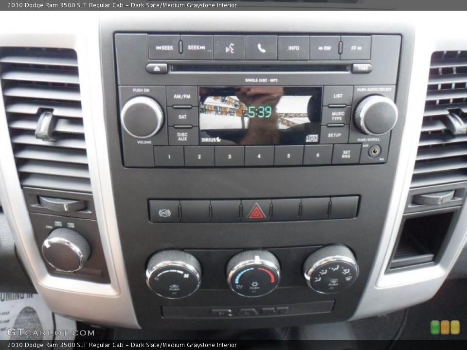 Dark Slate/Medium Graystone Interior Controls for the 2010 Dodge Ram 3500 SLT Regular Cab #49636925