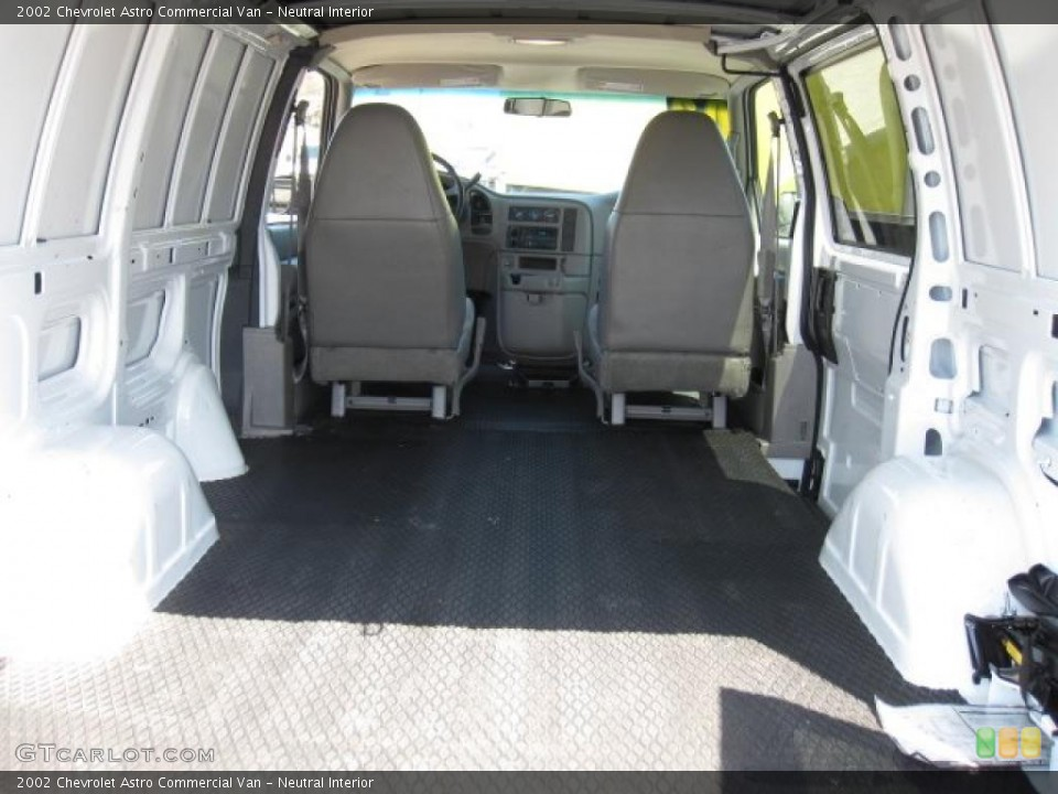 Neutral Interior Trunk for the 2002 Chevrolet Astro Commercial Van #49638665