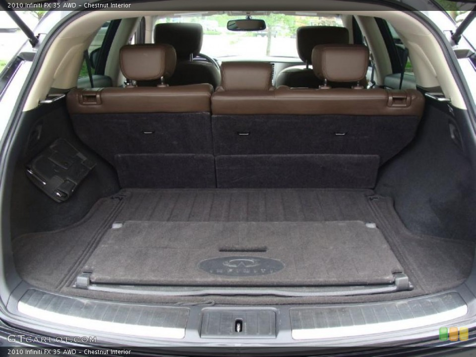 Chestnut Interior Trunk for the 2010 Infiniti FX 35 AWD #49722919