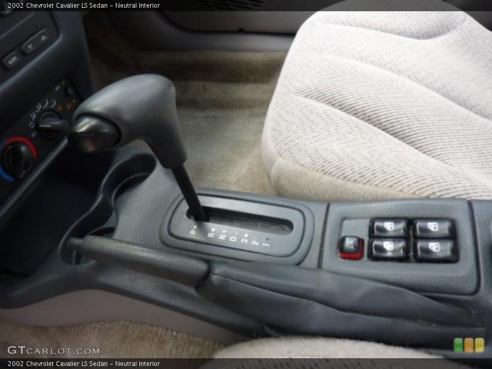 Neutral Interior Transmission for the 2002 Chevrolet Cavalier LS Sedan #49818048