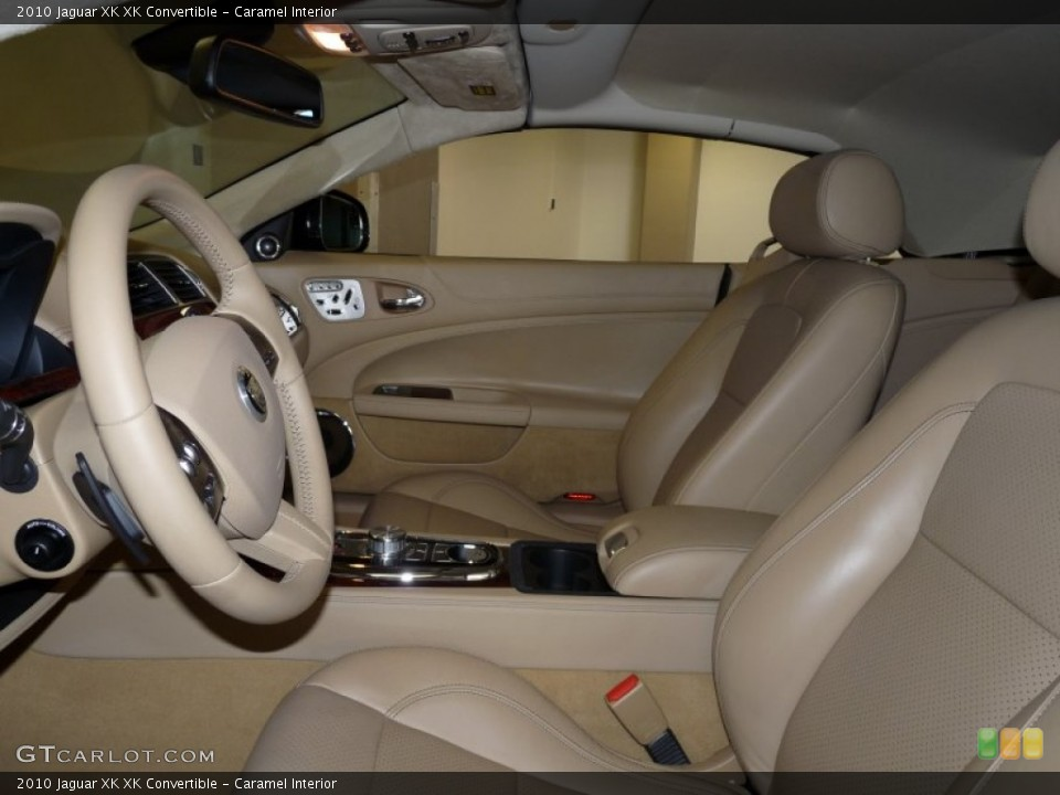 Caramel Interior Photo for the 2010 Jaguar XK XK Convertible #49932282