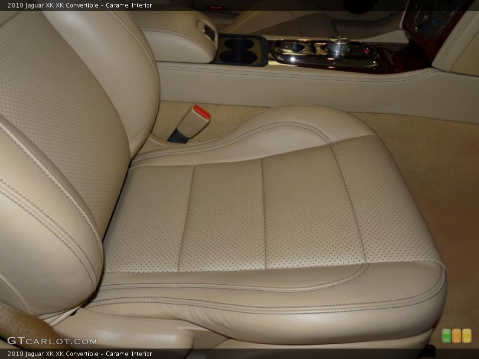 Caramel Interior Photo for the 2010 Jaguar XK XK Convertible #49932342