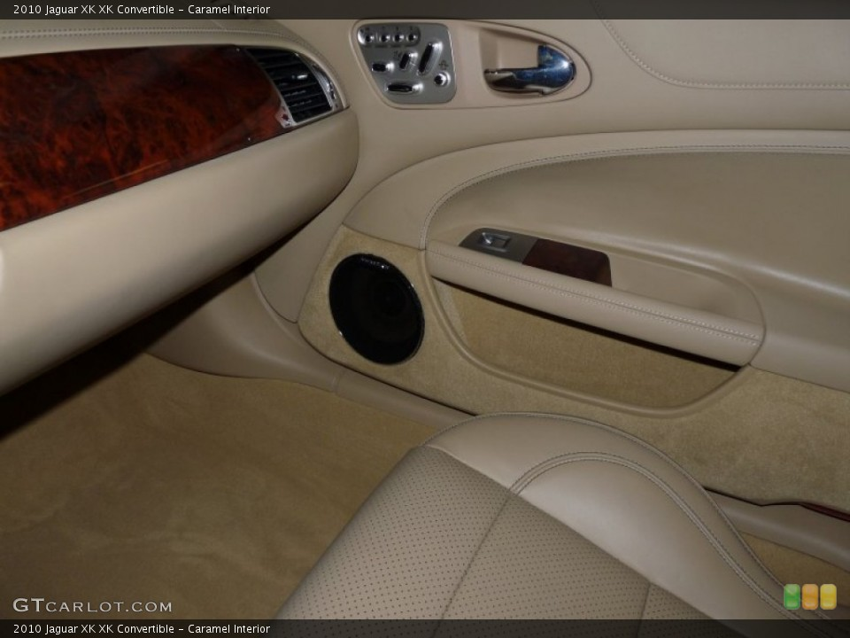 Caramel Interior Photo for the 2010 Jaguar XK XK Convertible #49932354