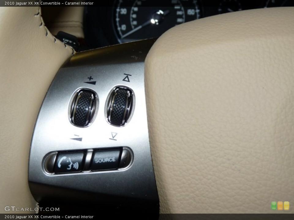 Caramel Interior Controls for the 2010 Jaguar XK XK Convertible #49932420