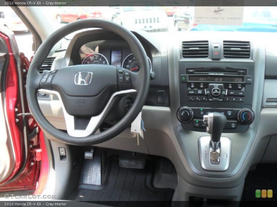 Gray Interior Dashboard for the 2010 Honda CR-V EX #49943735