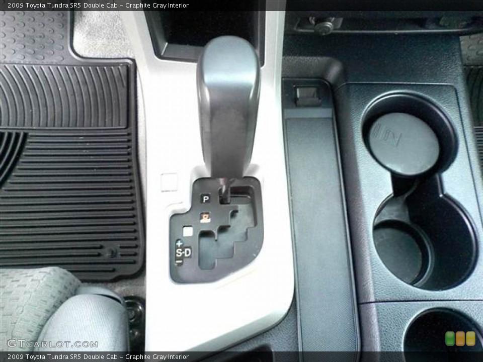 Graphite Gray Interior Transmission for the 2009 Toyota Tundra SR5 Double Cab #49953518