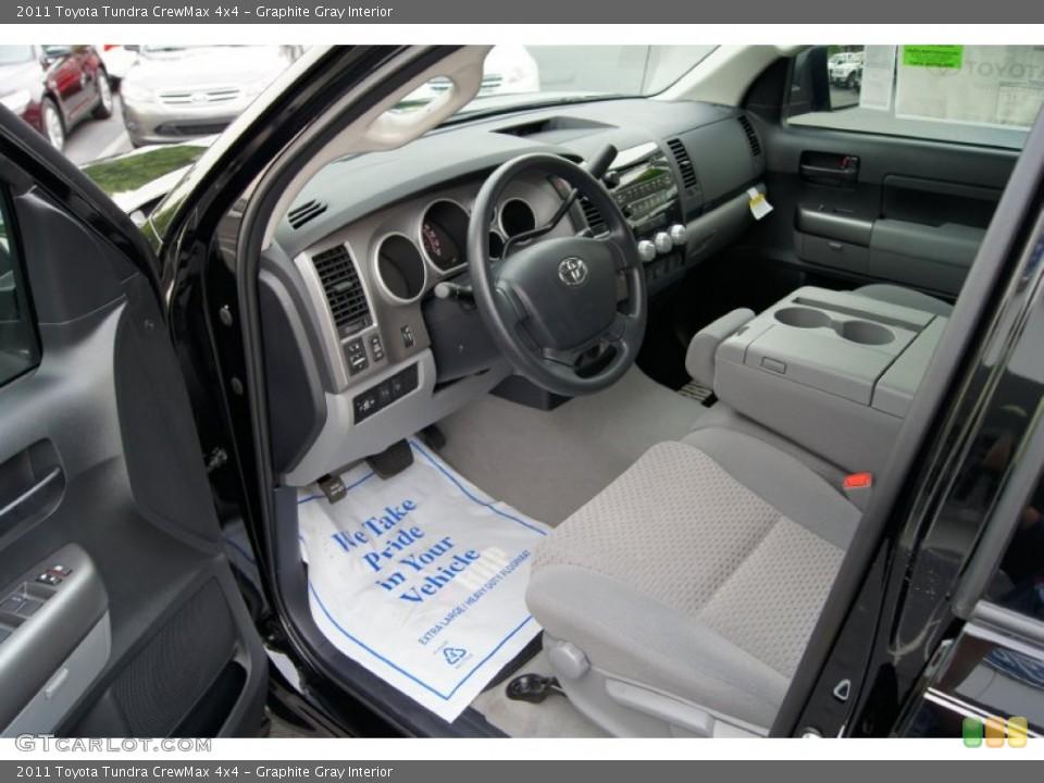 Graphite Gray Interior Photo for the 2011 Toyota Tundra CrewMax 4x4 #49969119
