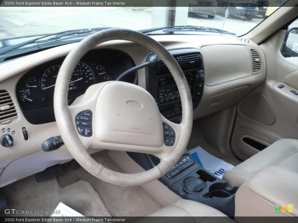 Medium Prairie Tan Interior Photo for the 2000 Ford Explorer Eddie Bauer 4x4 #49972608