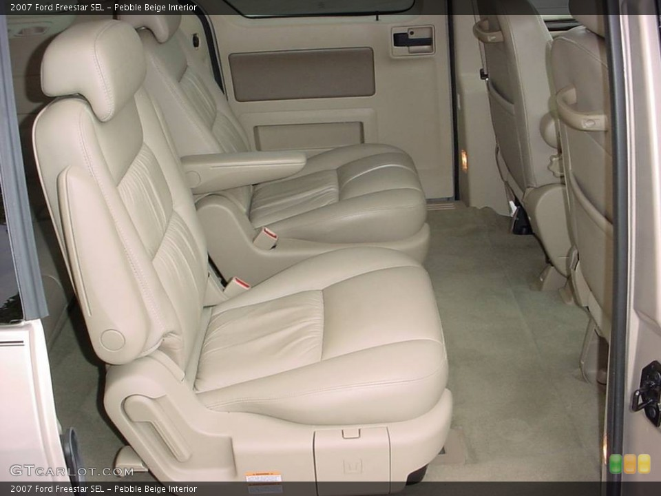 Pebble Beige 2007 Ford Freestar Interiors