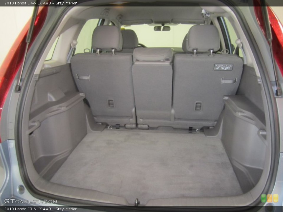 Gray Interior Trunk for the 2010 Honda CR-V LX AWD #50137825