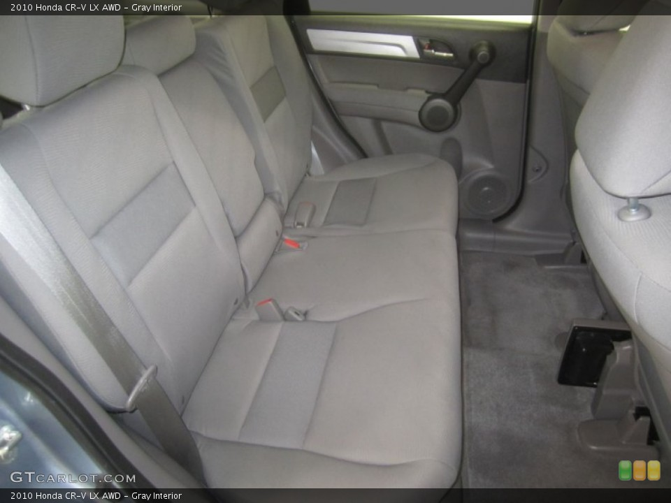 Gray Interior Photo for the 2010 Honda CR-V LX AWD #50137879
