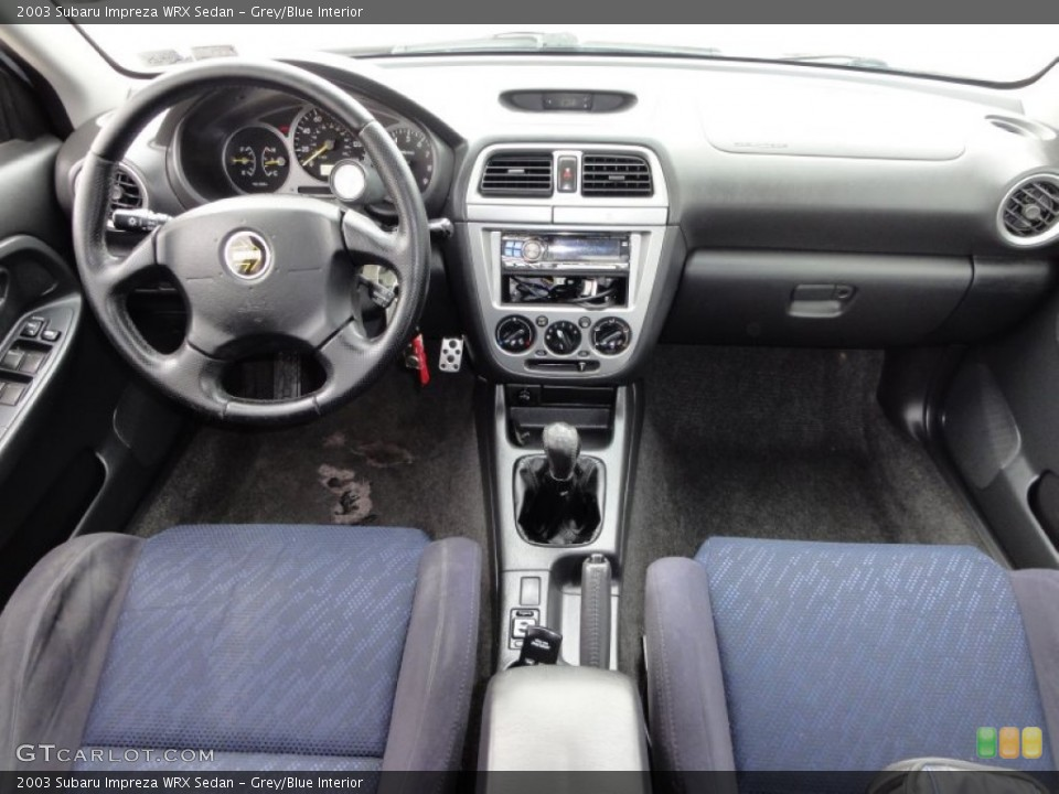Subaru Impreza Wrx 2003 Interior