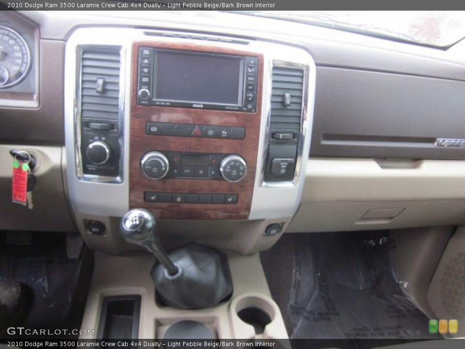 Light Pebble Beige/Bark Brown Interior Transmission for the 2010 Dodge Ram 3500 Laramie Crew Cab 4x4 Dually #50178509
