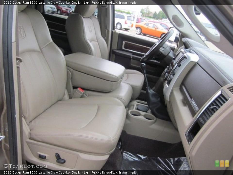 Light Pebble Beige/Bark Brown Interior Transmission for the 2010 Dodge Ram 3500 Laramie Crew Cab 4x4 Dually #50178620